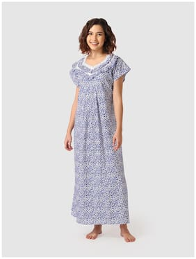 Vemante Blue Night Gown