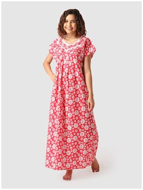 Vemante Red Night Gown