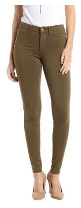 Vero Moda Women Regular Fit Low Rise Geometric Pants - Green
