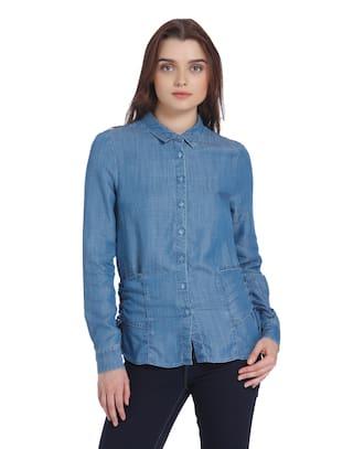 Moda Casual Shirt Moda Vero Women's Vero Women's 8Oxwz7tq
