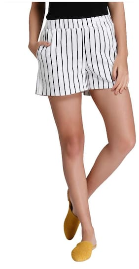 Vero Moda Women White Shorts