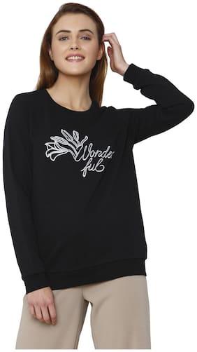 Vero Moda Women Printed Sweatshirt - Black