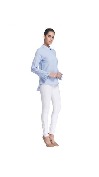 Design Casual Shirt Women Light Self Blue Vero Moda q86aw6X