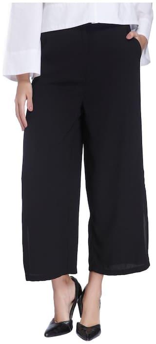 Vero Moda Women Black Regular fit Regular pants