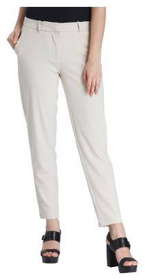 Vero Moda Women Regular fit Low rise Solid Regular trousers - Grey