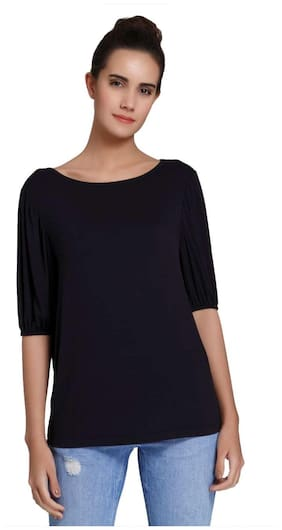 Vero Moda Women Dark Blue T-SHIRT
