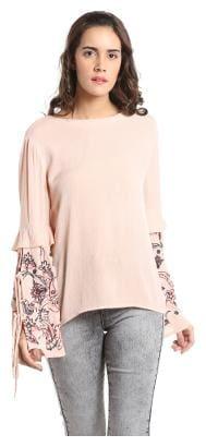 Vero Moda Women Geometric A-line top - Pink