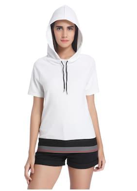 Vero Moda Geometric White T Shirt