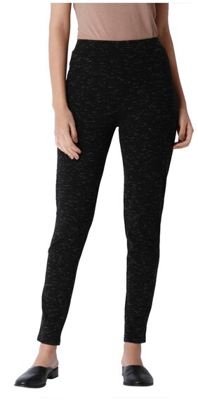 Vero Moda Women Straight Fit High Rise Solid Pants - Black