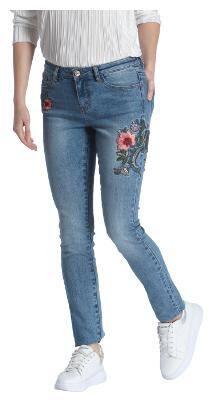 Vero Moda Women Regular fit Low rise Solid Jeans - Blue
