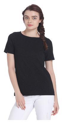 Vero Moda Geometric Black T Shirt