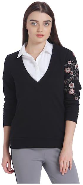Women Printed Sweater