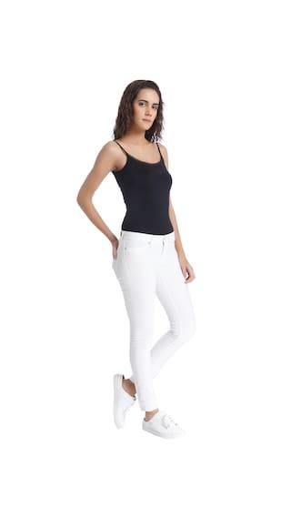 White Moda Jeans Vero Women Slim qRCwxptx