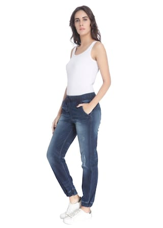 Solid Women Vero Moda Blue Jeans Dark Casual H45Iq5w