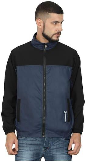 Versatyl Men Polyester Jacket - Black