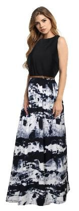Viha Black Crepe Anarkali Stitched Gown
