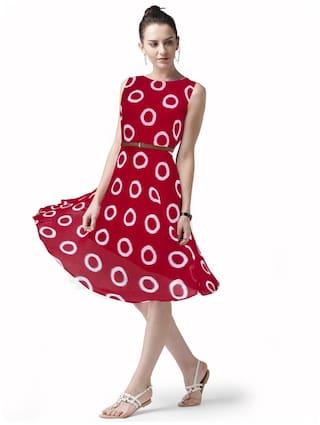 Viha Exclusive Bollywood Designer Printed Western Dress