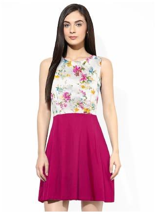 Exclusive Bollywood Western Viha Dress Printed Designer BCwnnWaSq