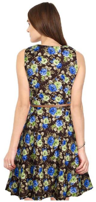 Viha Western Bollywood Dress Exclusive Designer Printed PWrcPwgf