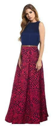 Viha Multicoloured Crepe Anarkali Stitched Gown