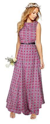 Viha Pink Crepe Anarkali Stitched Gown