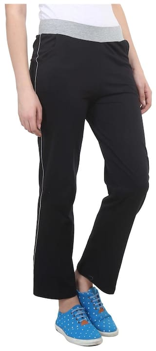 For Vimal Trackpant  2 Blue Navy amp Cotton Black Of Women Pack UiZJnqbh