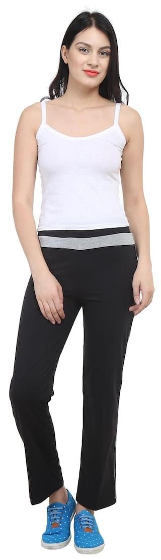 Women Vimal For Cotton Trackpant Black jvPM4RmD