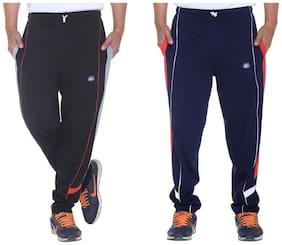 VIMAL JONNEY Men Cotton Track Pants - Black