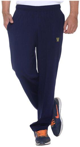 Vimal Men Cotton Track Pants - Blue