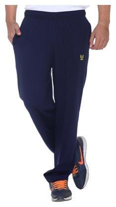 VIMAL JONNEY Men Cotton Track Pants - Blue