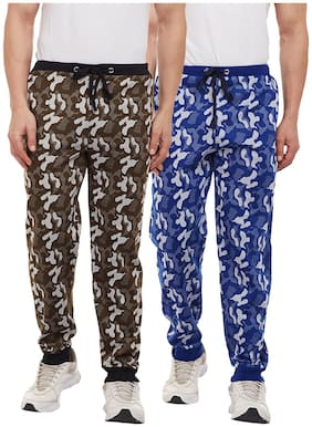 VIMAL JONNEY Men Cotton blend Track Pants - Multi