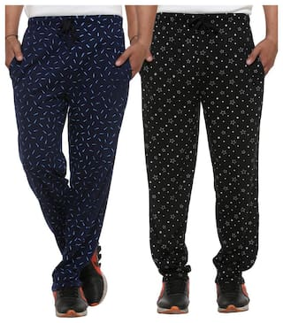 Vimal Cotton Trackpants For Men(Pack Of 2)