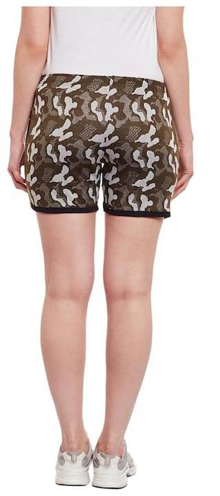 Vimal Green Military Women Shorts Army For Camouflage arqTB0a