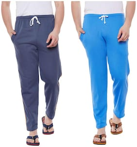 Vimal Jonney Cotton Multicolor Trackpants For Men