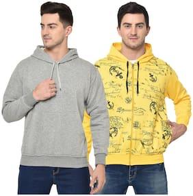 Men Printed Sweatshirt Pack Of 2