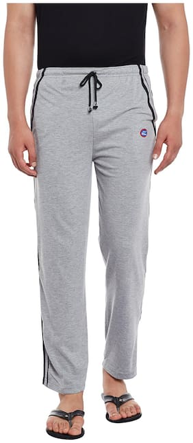 VIMAL JONNEY Men Blended Track Pants - Grey