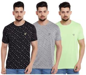 Men Round Neck Printed T-Shirt