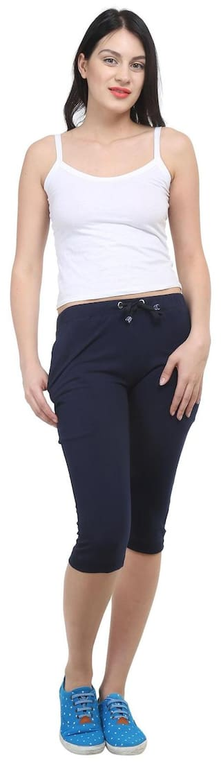 For Blue Navy Women Vimal Trackpant Cotton w4MpAC