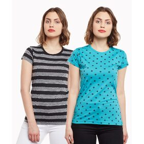 Vimal Striped And Printed Tops For Women