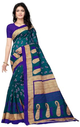 Cotton Bhagalpuri Saree