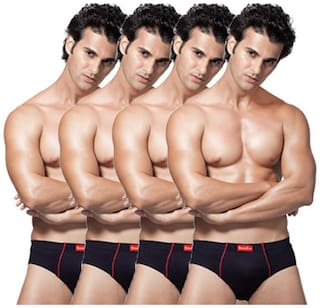 VIP Briefs - Blue ,Pack of 4