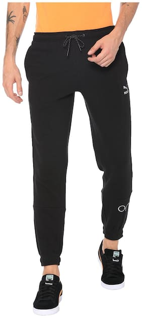Regular Fit Cotton Track Pants Pack Of 1