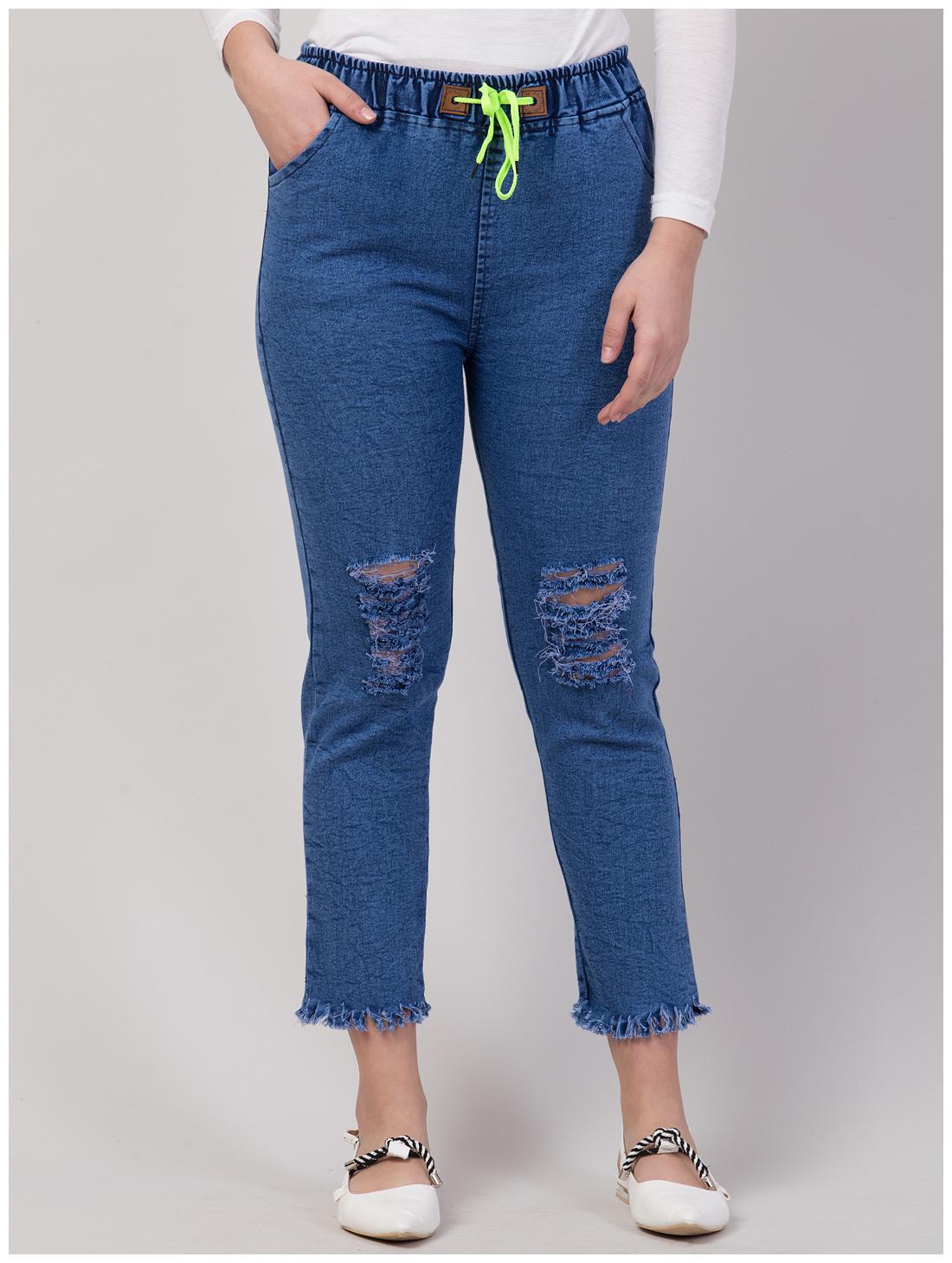 Vogue Tantra Women Blue Slim fit Jeans by Vogue Tantra