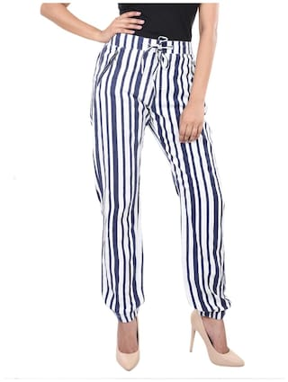 Casual Women's FASHION Trouser Cambric VS Blue xYEHH
