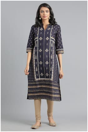 Women Printed Layered Kurta