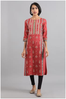 Women Paisley Straight Kurta