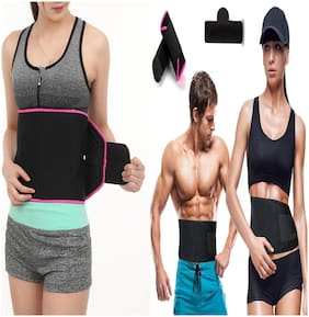 Waist TRimmer Slimming Belt with Tummy Control Shapewear Fat Cutter Tummy Tucker  Weight Loss Loss for Women & Men