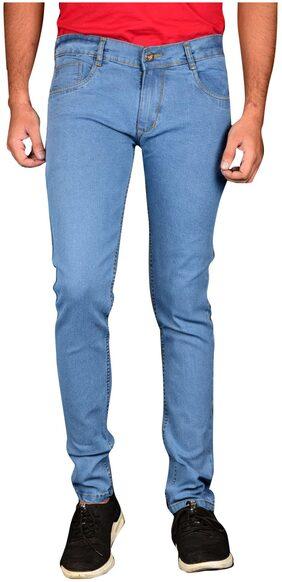 WAIVERSON Men Mid Rise Slim Fit ( Slim ) Jeans - Blue