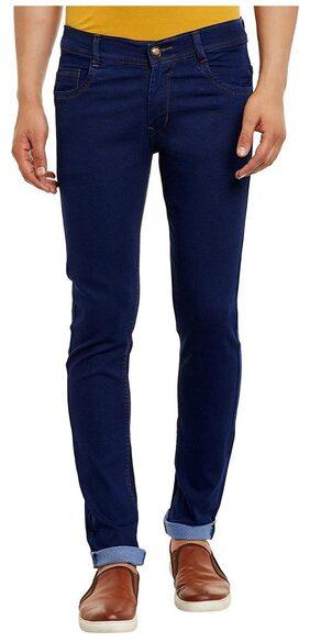 Waiverson Slim Fit Men's Dark Blue Jeans