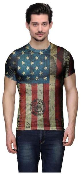 Wear your Mind Men Multi Regular fit Cotton Round neck T-Shirt - Pack Of 1